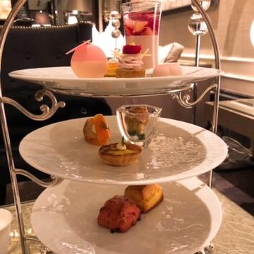 ♡豪華♡幸せ♡ホテルインターコンチネンタル東京ベイ《桜と苺のアフタヌーンティー》