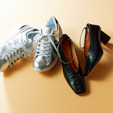 松本千登世さんが履き心地とバランスのとりやすさで選んだ2足【おしゃれプロのスニーカーともう一足】