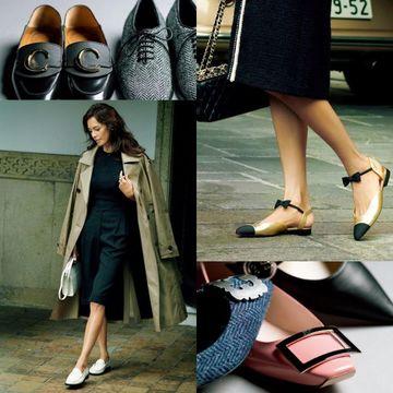 50代が履きたいフラット靴 photo gallery