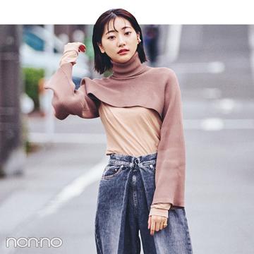 武田玲奈&松川菜々花の冬私服♡ ZARAのニット、韓国通販のパンツが大活躍