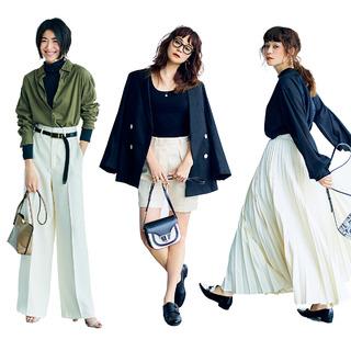 最強のおしゃれ配色「秋のモノトーンコーデ」のつくり方|40代ファッショントレンドまとめ