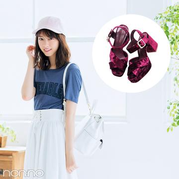 西野七瀬、秋はベロアの靴から始める! #プチプラもご紹介♡