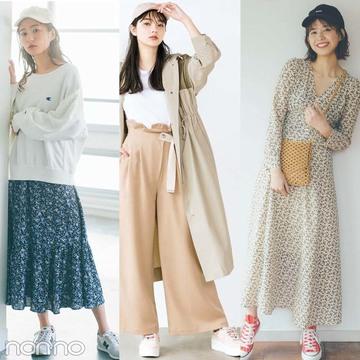 春夏スニーカーコーデ10選★ 女の子っぽく仕上げるお手本が満載!