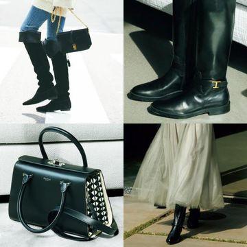 【50代の最強セット】コーデをぐっと引き締める「黒のバッグ×靴」で気品とこなれ感を手に入れる