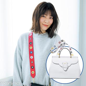 インスタ映え必至♡ サマンサベガのバッグも、ストラップを付け替え!