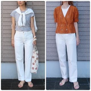 暑い夏にヘビロテ度No.1 ユニクロのクリーンな白パンツで普段着コーデ