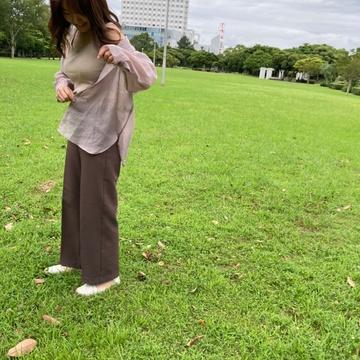 【プチプラ】トレンドのシアーシャツをゲット!!_1_3