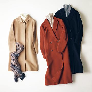 「スキャパ」の上質素材コート五選