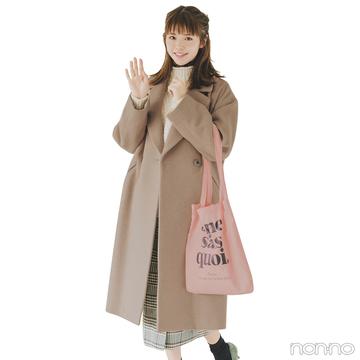 今季の本命・キャメルのチェスターコートは女子会にもデートにもぴったり!【毎日コーデ】