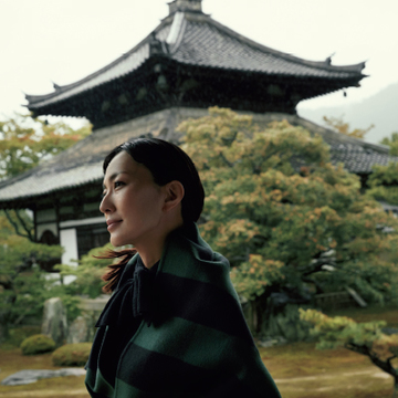 女優・板谷由夏が訪れる、優雅で美しい「奥嵯峨野」