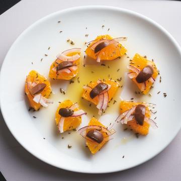 4.オレンジのサラダ