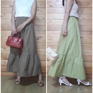 【GU】大人も着られる夏のティアードスカートを発見!