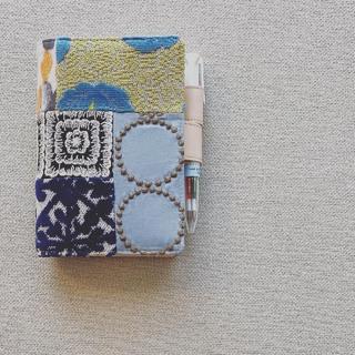 来年の手帳もminä perhonen(ミナ ペルホネン)のカバー
