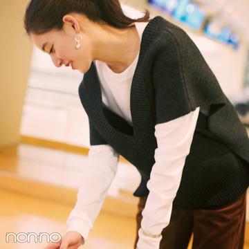 新木優子主演・ニットの恋愛物語。先輩からの告白、どうする?【ニットを着るなら、エモいほう。vol.4】