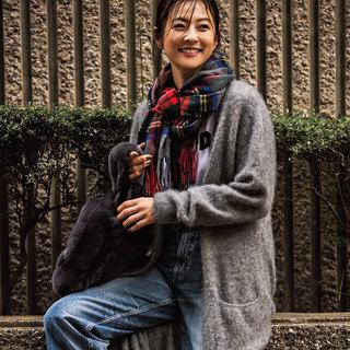 """モデル五明祐子「""""きれい色""""の華やかさが気分!」【My Life,My Fashion!】"""
