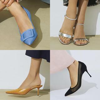 女っぷりを上げるデザインが豊富。今買うべき靴はこの4タイプ!