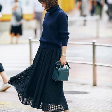 10着がベース! 村山ワードローブでつくる、富岡佳子の「秋の日の7Days」