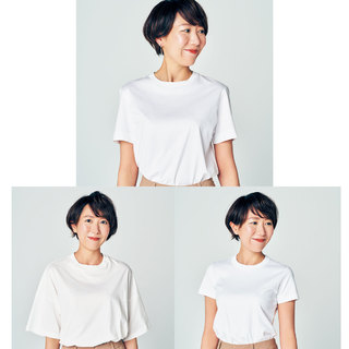 年々やせて貧相になるデコルテをカバーしたい【アラフォーのための白Tシャツ】