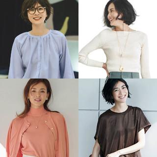 在宅勤務のオンライン会議、リモートワークにほどよくきちんと見えする仕事コーデのまとめ|40代ファッション