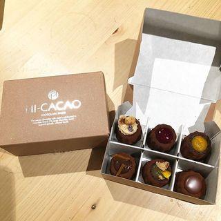 濃厚だけど重くない!「HI-CACAO CHOCOLATE STAND」のチョコレートスイーツ♡