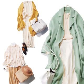 冬の白をとことん楽しむ!アラフォーのための「白コーデ」まとめ【40代 2020冬ファッション】