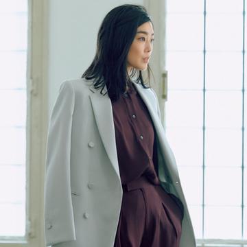 すっきり軽やかな「額縁ジャケット」、取り入れやすいアウター感覚の一着はこれ!