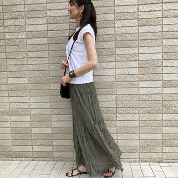 シアースカートでトレンド感を_1_2