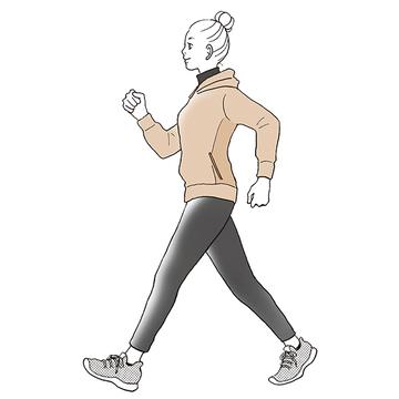 一日1万歩はもう古い!忙しいアラフィー世代におすすめの「インターバル速歩」