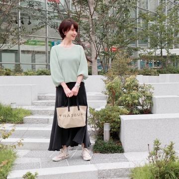 """""""お散歩コーデ""""と""""プチプラピアス"""""""