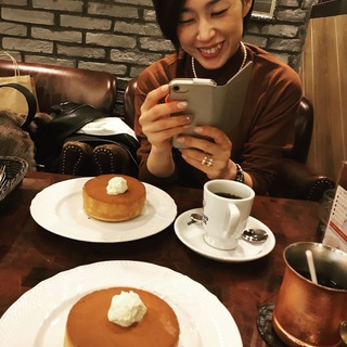 旬色GREEN&PINKでパンケーキ会議☆_1_3