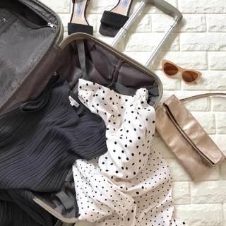 旅行準備は小物重視!どの靴、どのバッグで行く?(出発編)【高見えプチプラファッション #46】