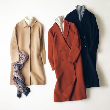 エレガントに暖かく「スキャパ」の上質素材コート 五選