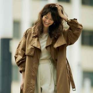 ドラマティックに! 軽やかに!「薄軽ベルテッドコート」で、ONもOFFもいい女