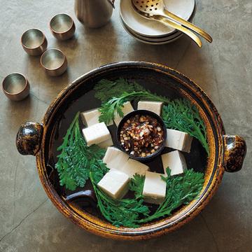 <有元葉子さん・2皿レシピ>アナゴの湯葉巻き×湯豆腐
