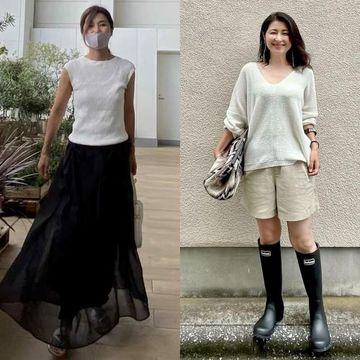 【2021夏のプチプラファッション】アラフィー華組ブロガーの『ユニクロ・GU』高見えコーデ特集
