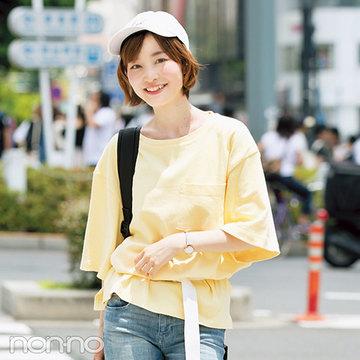 ビッグTシャツ×H&Mのデニムで東京へ!【期間限定で毎日更新!カワイイ選抜の夏服スナップ day23】