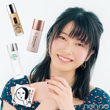 AKB48横山由依さんの崩れない下地&毛穴・テカリ防止の愛用コスメはコレ!【夏美容の100のアンサー!】