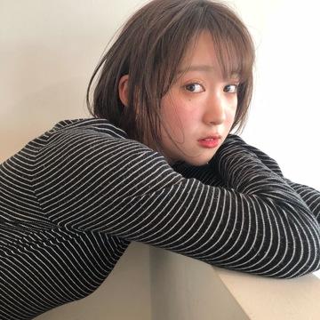 秋色hair color  ココアベージュ ♡