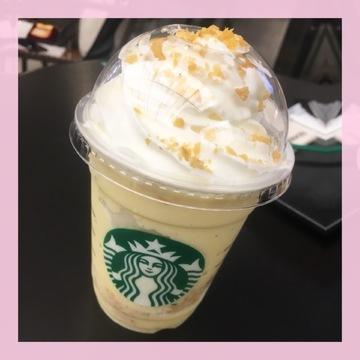 【秋のスタバ新作♡第2弾】クリスピー スイート ポテト フラペチーノ®♩