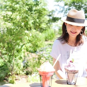 夏の楽しみ冷たいデザート