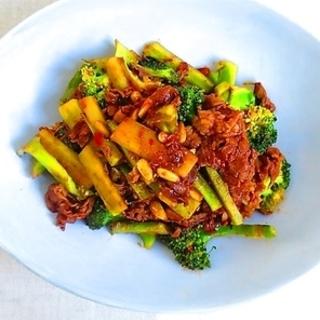 ダイエッターにも!牛肉とブロッコリーのピリ辛炒めレシピ