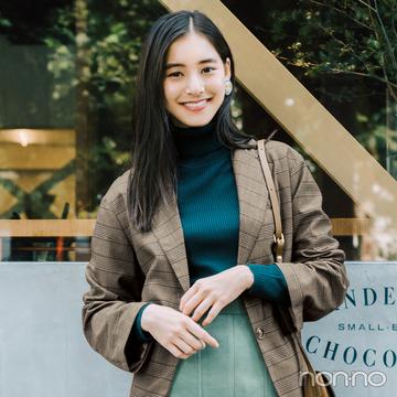 新木優子のテーラードジャケット+6着で秋の最新コーデ着回し10days【前半】