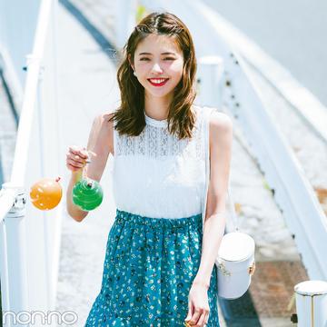 夏色プチプラ★ロングスカート、今買い足してもこんなに着回せる実例&カタログ!