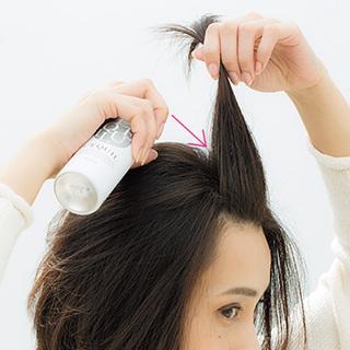 ぺったり前髪のためのスタイリングテクニック
