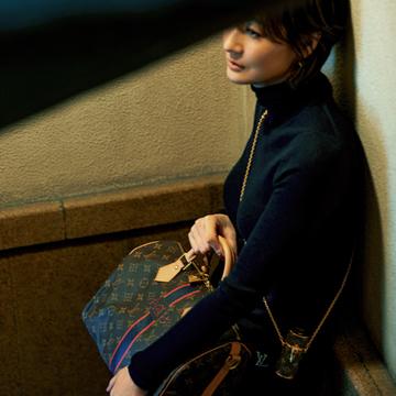 大人の遊び心。ルイ・ヴィトンのバッグ【富岡佳子の「名品が私に教えてくれること。」vol.12】