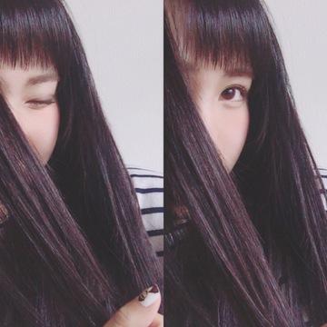 湿気で目にかかる前髪を防ごう!眉毛ギリギリ前髪(゚ロ゚)!