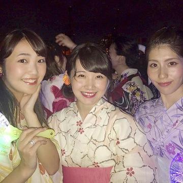 納涼船は三連休がラストチャンス!!