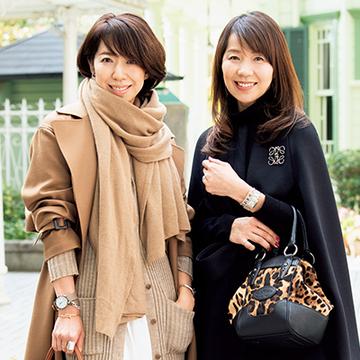 神戸マダムのこの冬お気に入りのスタイルは?【#Jマダムのおしゃれ】