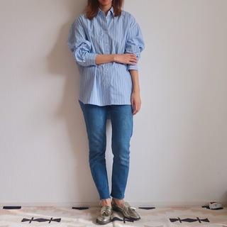 【今1990円】ユニクロユーのゆったりシャツは着るだけでサマになる大人シルエット
