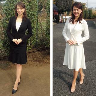 Q.「きちんと服=スーツに頼りきり。 堅いか、派手か、の両極端なんです」